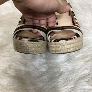 Vince Camuto Shoes - Vince Camuto Cow Hair Animal Print Espadrilles